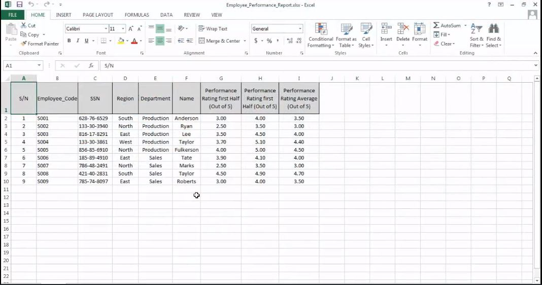 Create Charts and Objects in Excel 2013 Tutorial | Simplilearn