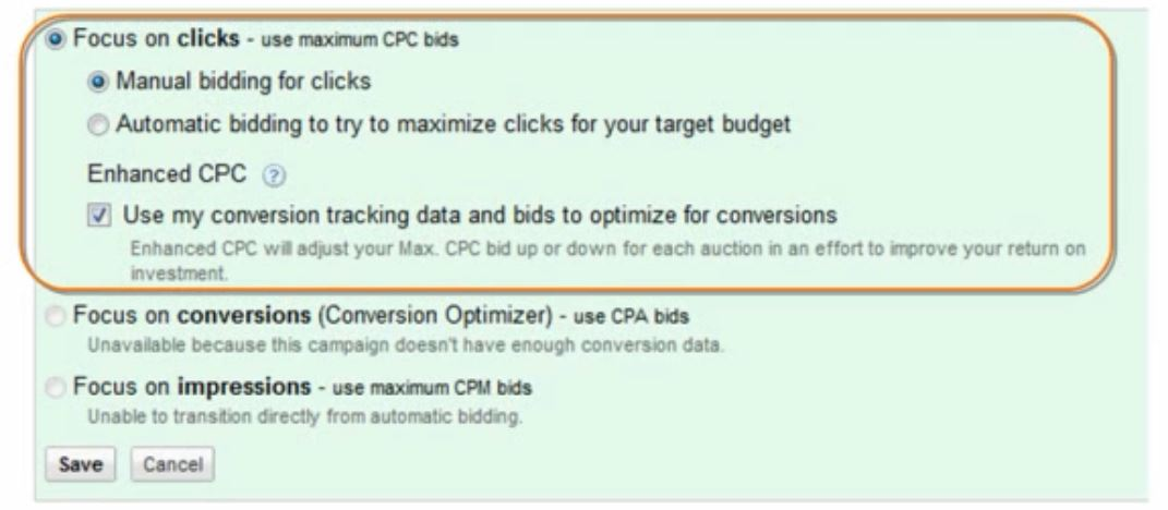 enhanced-cost-per-click-option