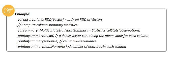 feature extraction and basic statistics
