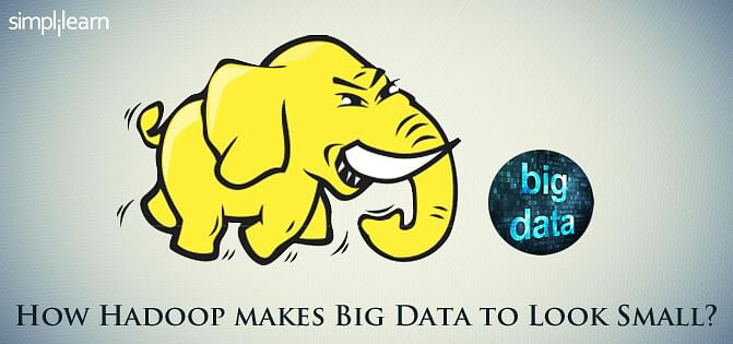 How Hadoop makes Big Data to look small?