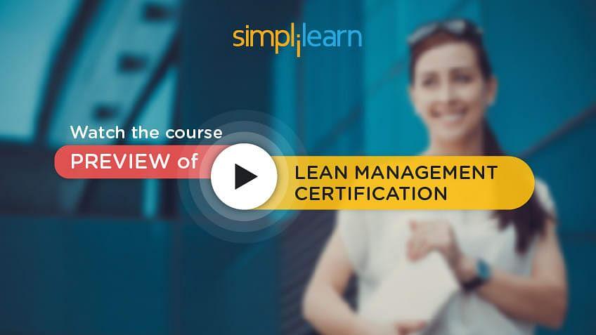 Lean Management Introduction Tutorial Simplilearn