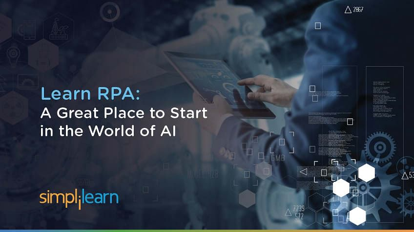 Robotic Process Automation: An Easy Place to Get Started with AI