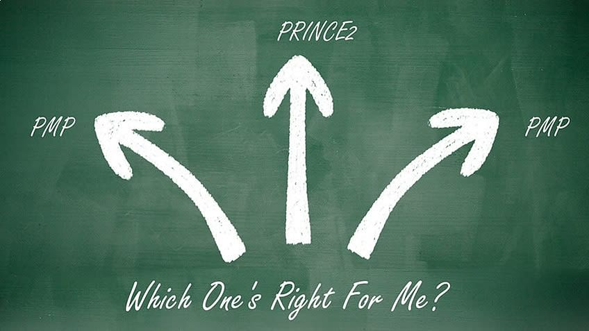 PMP vs PRINCE2 vs CAPM: Which One's Right For Me?