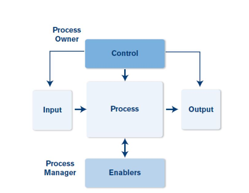 process and its components