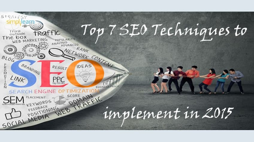 Top 7 SEO Techniques to Implement In 2015