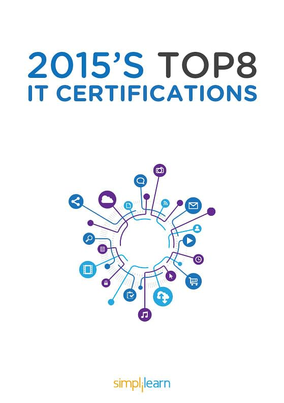 Free eBook: 2015 Top 8 IT Certifications