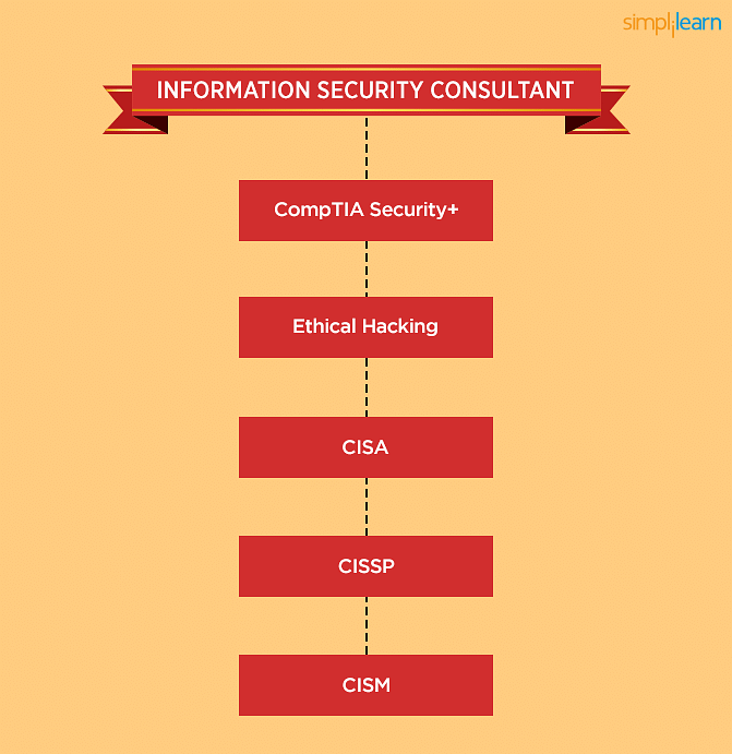 IT Security Consultant Learning path