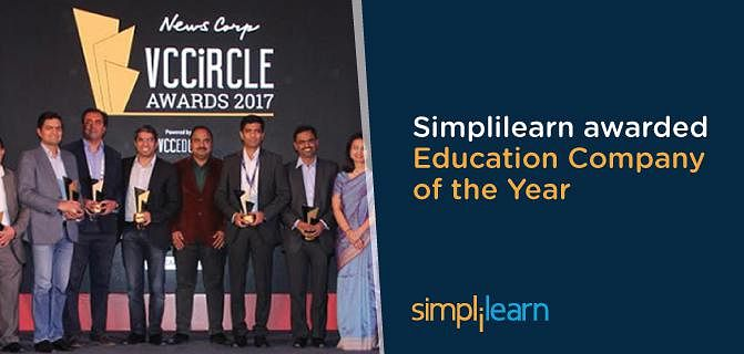 Simplilearn wins award