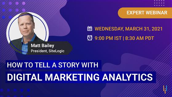 Storytelling With Marketing Analytics