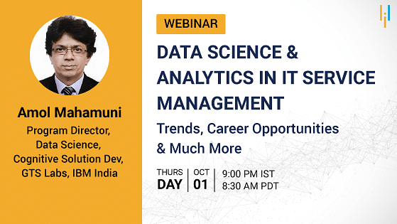 Data Science & Analytics in ITSM: Trends, Career Opportunities & Much More