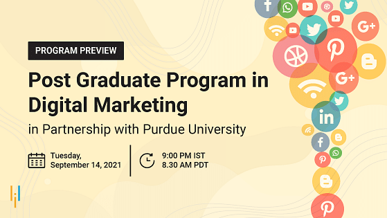 Program Preview: Post Graduate Program in Digital Marketing