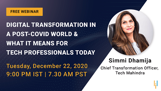 Digital Transformation in a Post-COVID World & What It Means for Tech Professionals Today