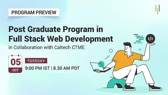 Program Preview: Post Graduate Program in Full Stack Web Development