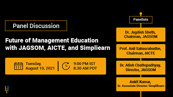 Panel Discussion: Future of Management Education