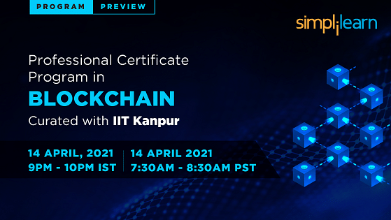 Program Preview: Professional Certificate Program in Blockchain