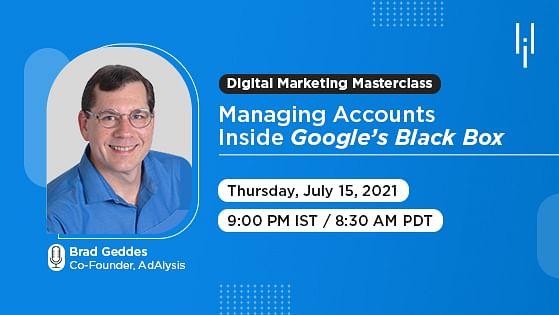 Managing Accounts Inside Google's Black Box