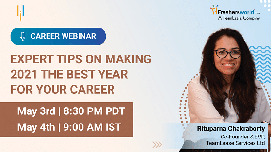 Expert Tips on Making 2021 the Best Year for Your Career